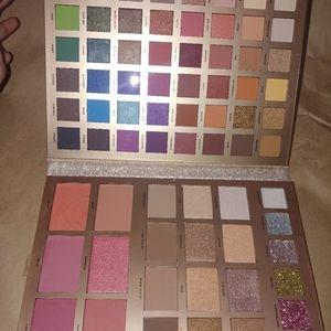 Profusion 72 piece makeup set bundle mixed NEW